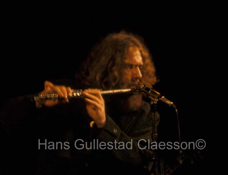 Ian Anderson, Jethro Tull, plays the Flute at Stockholm Konserthus 9/1/69.